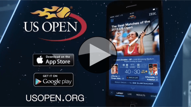 Voice Over. The 2016 US Open App