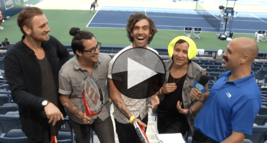 2015 Arthur Ashe Kids Day. American Authors