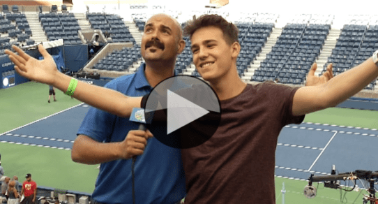 2015 Arthur Ashe Kids Day. Jacob Whitesides
