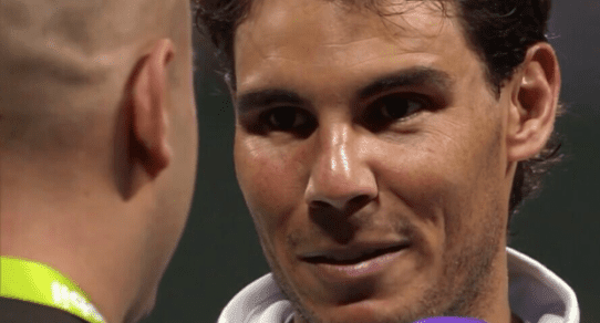 Andy Taylor. Announcer. Rafael Nadal. 2014 Championship Trophy Presentation