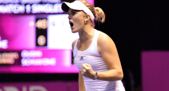 Melanie Oudin. Breakthrough season for Team USA in 2009