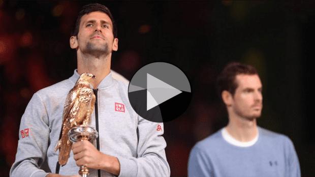 2017 Qatar ExxonMobil Open Champion. Novak Djokovic