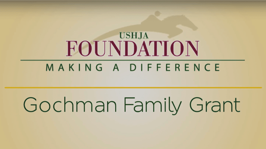 Andy Taylor Voice Over USHJA Gochman Family Grant