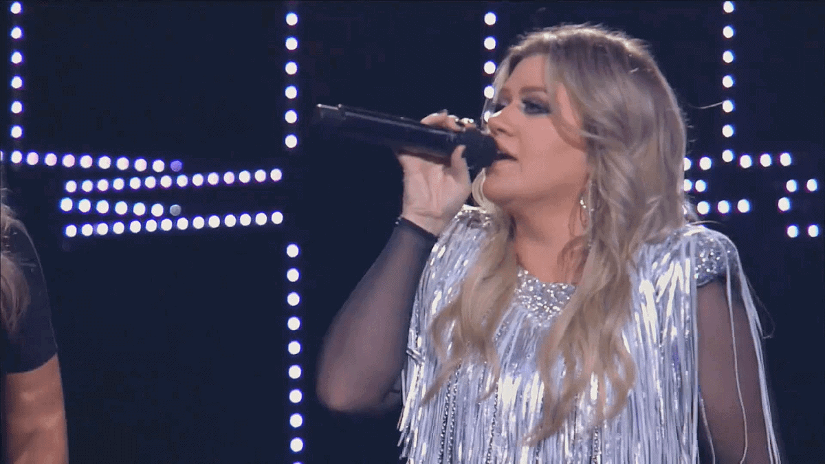Voice of God. 2018 Opening Night featuring Kelly Clarkson