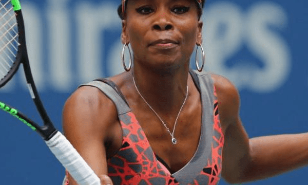 Andy Taylor. Announcer. 2017 US Open. Round-1. Day-1. Venus Williams defeats Viktoria Kuzmova