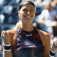 Andy Taylor. Announcer. 2017 US Open. Round-3. Day-5. Petra Kvitova defeats Caroline Garcia