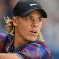 Andy Taylor. Emcee. 2017 US Open. Round-3. Day-5. Denis Shapovalov defeats Kyle Edmund (ret)