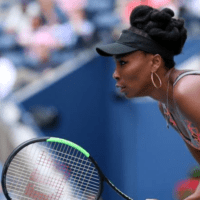 Andy Taylor. Tennis Host. 2017 US Open. Round-3. Day-5. Venus Williams defeats Maria Sakkari
