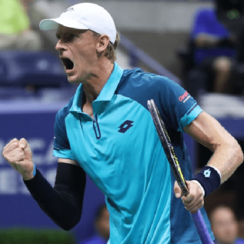 Andy Taylor. Sports Host. 2017 US Open. Quarterfinal. Day-9. Kevin Anderson defeats Sam Querrey