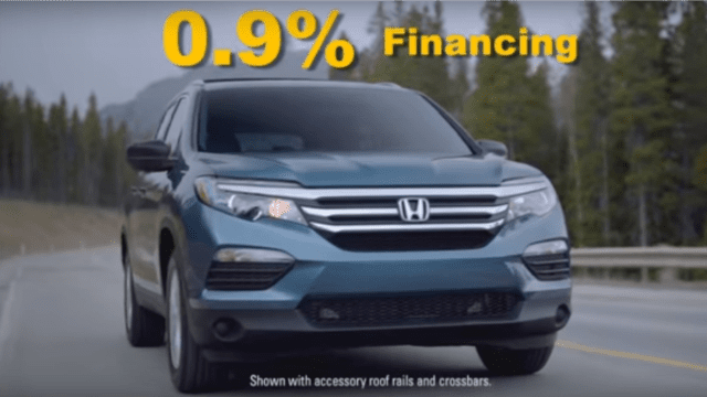 Andy Taylor Voice Over. Don Wessel Honda. Television Commercial. November 2017 Campaign. 0.9% Financing on the Honda Pilot