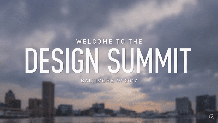 Andy Taylor. Narrator. Discover Baltimore. Vectorworks Design Summit