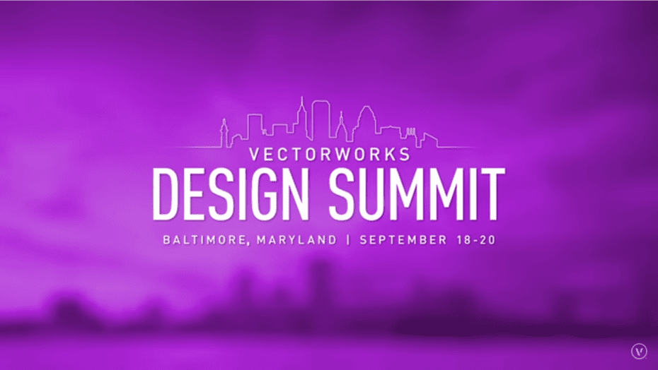 Andy Taylor. Narrator. Promotional Video. Vectorworks Design Summit