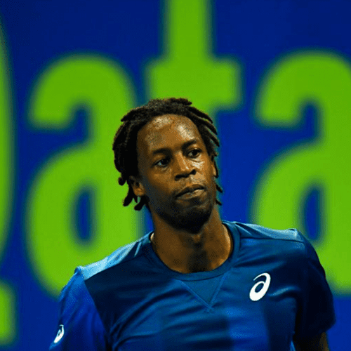 Andy Taylor. Sports Host. Qatar ExxonMobil Open 2018. Day 5. Semifinals. Gael Monfils