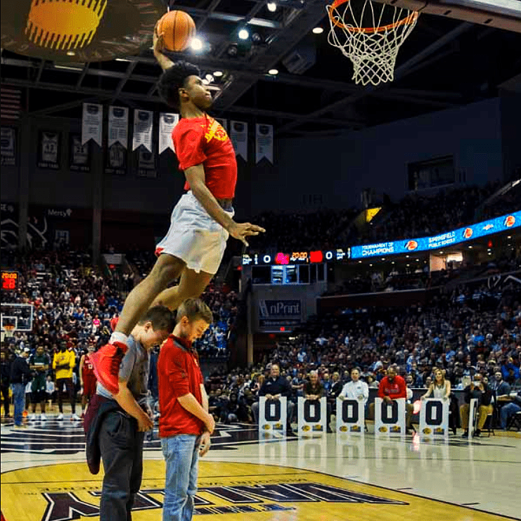 Andy Taylor. Emcee. 2018 Bass Pro Tournament of Champions. Slam Dunk Contest Highlights