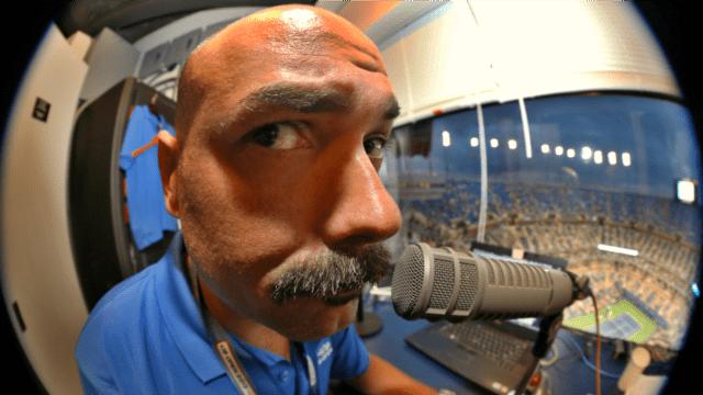 2014 US Open. Terrorizing the DJ