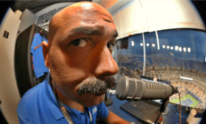 2013 US Open. Live from the Announce Booth