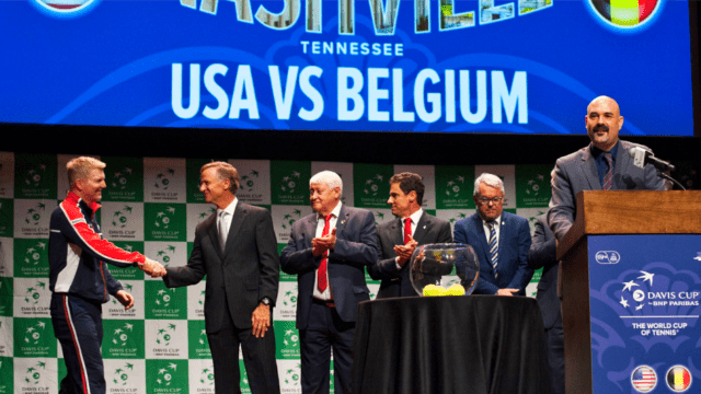 Davis Cup Tennis Host Andy Taylor. 2018 World Group Quarterfinal Nashville