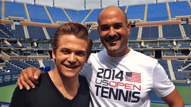 2014 Arthur Ashe Kids Day. Hunter Hayes