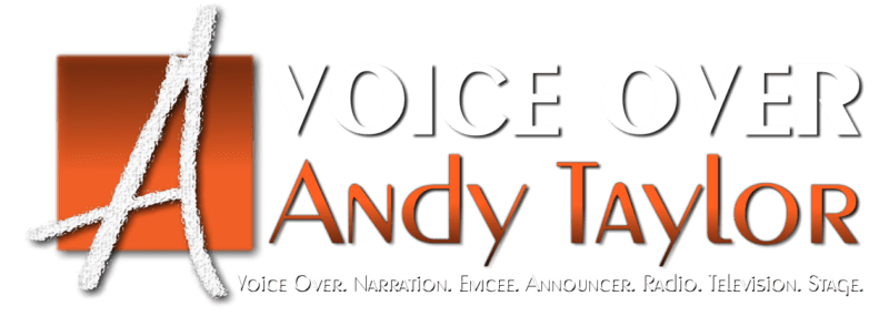 Voice Over Andy Taylor Logo