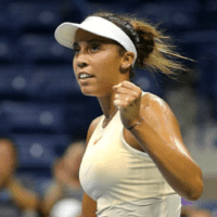 Andy Taylor Announcer. 2018 US Open Round-1. Madison Keys defeats Pauline Parmentier