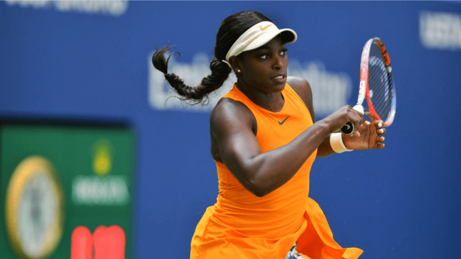 Andy Taylor Announcer. 2018 US Open Round-2. Sloane Stephens defeats Anhelina Kalinina