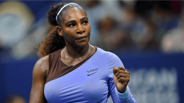 Andy Taylor Announcer. 2018 US Open Round-2. Serena Williams defeats Carina Witthöft