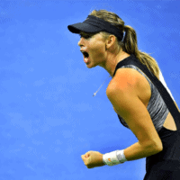 Andy Taylor Host 2018 US Open 023 Maria Sharapova Round-2
