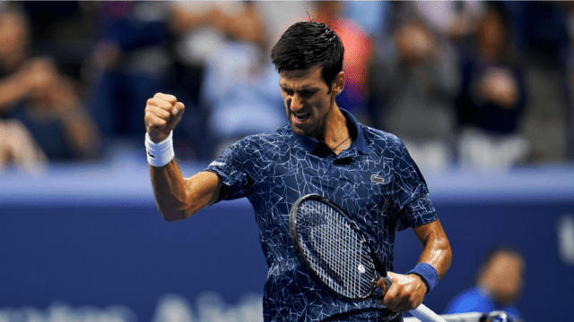 Andy Taylor Sports Narrator 2018 US Open 031 Novak Djokovic Round-3