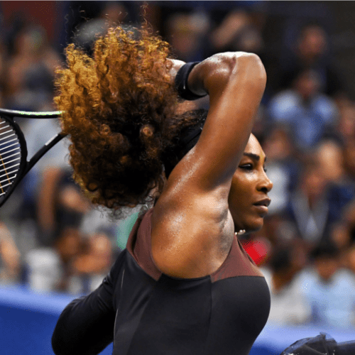Andy Taylor Sports Host 2018 US Open 042 Serena Williams Quarterfinal