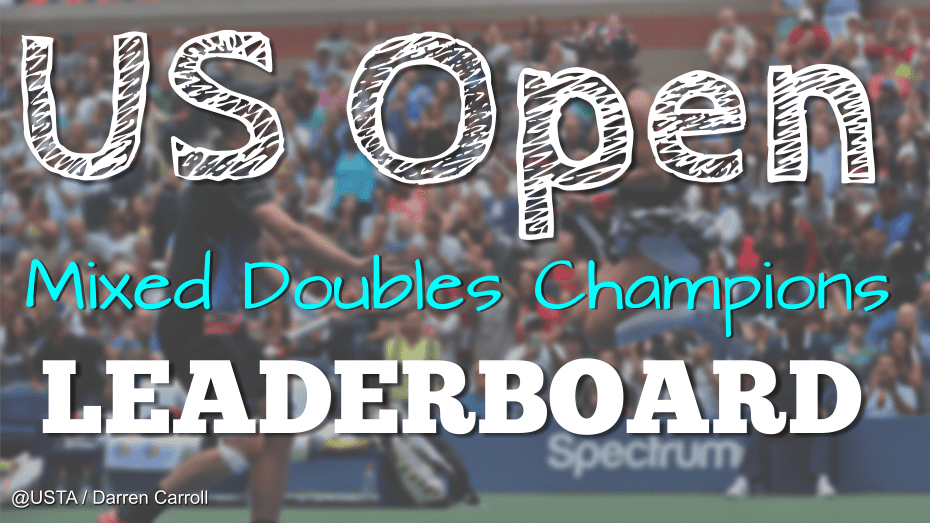 Andy Taylor Announcer US Open Mixed Doubles Champion Leaderboard