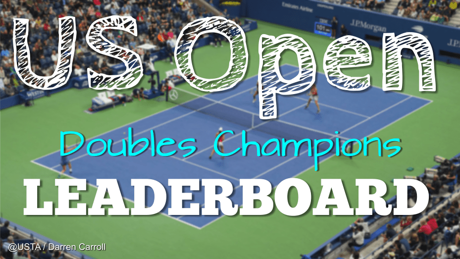 Andy Taylor Announcer US Open Doubles Champion Leaderboard