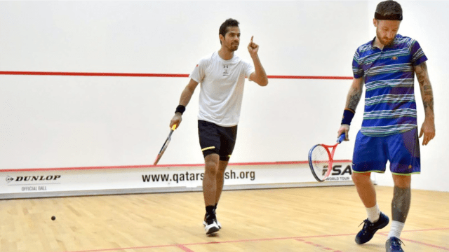 Andy Taylor Announcer 2018 Qatar Classic Round 1 Victory Cesar Salazar