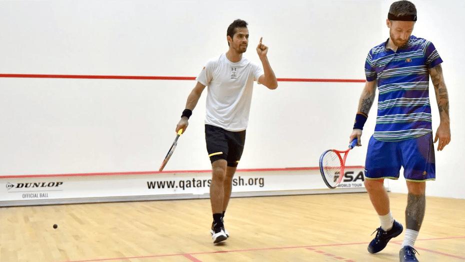 Andy Taylor Emcee 2018 Qatar Classic Round 1 Victory Cesar Salazar