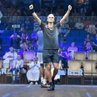 Andy Taylor Announcer 2018 Qatar Classic Quarterfinal Victory Diego Elias