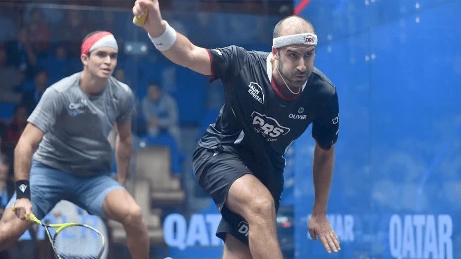 Andy Taylor Announcer 2018 Qatar Classic Semifinal Victory Simon Rösner