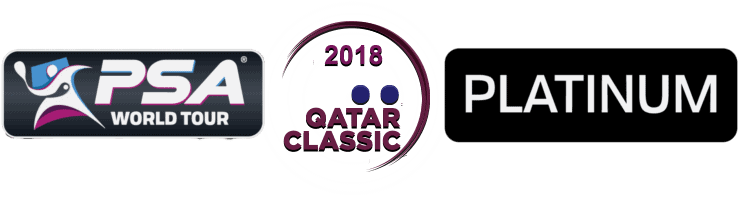 Andy Taylor Announcer. 2018 Qatar Classic Squash Championship