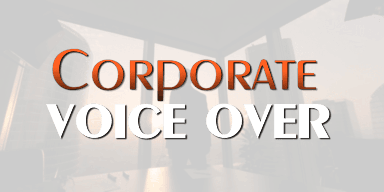 Voice Over Andy Taylor. Corporate