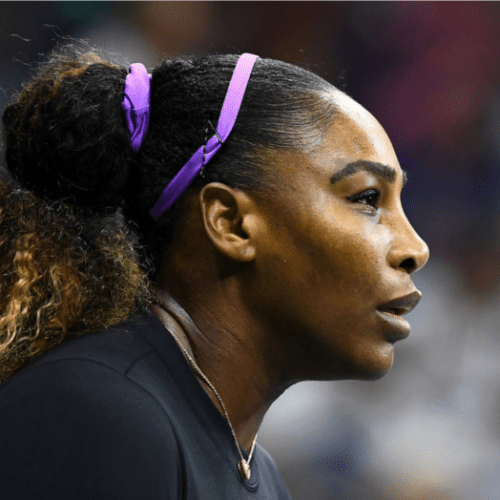 Andy Taylor Announcer. 2019 US Open. Serena Williams Round 1