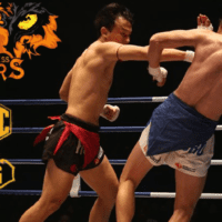 Announcer Andy Taylor. World Lethwei Championship. Fearless Tigers. Thway Thit Win Hlaing