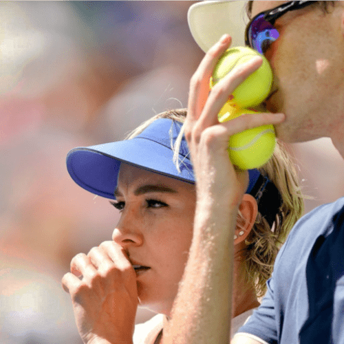Andy Taylor Announcer. 2019 US Open. Mattek-Sands and Murray Mixed Doubles Champions Again