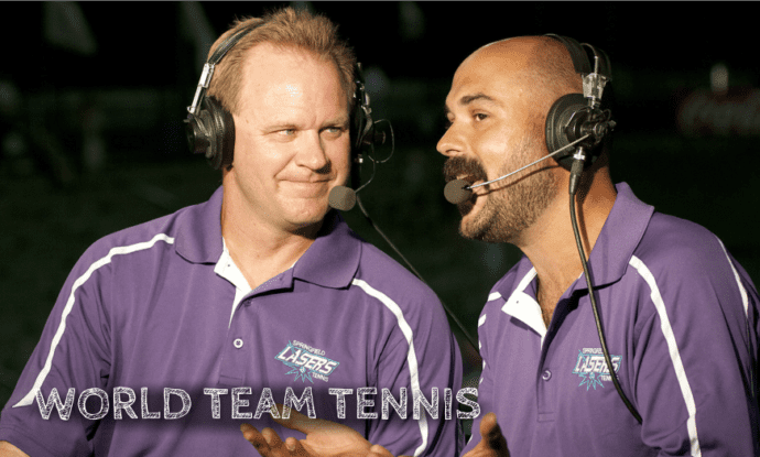 Announcer Andy Taylor World Team Tennis