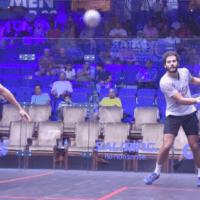 Andy Taylor Announcer. 2019 PSA Mens World Championship. Round 1. Karim Abdel Gawad