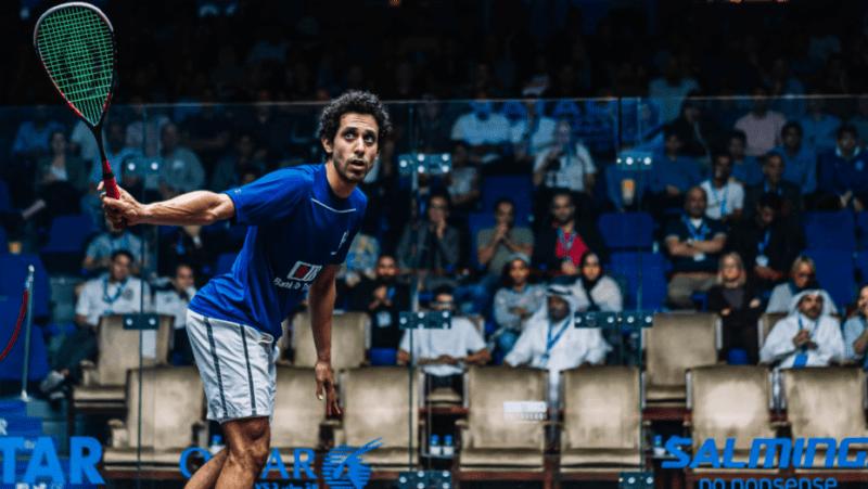 Andy Taylor Announcer. 2019 PSA Mens World Championship. Semifinal. Tarek Momen