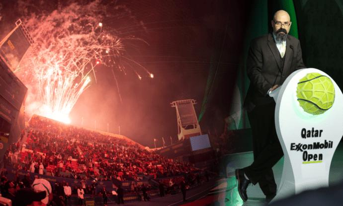 Andy Taylor Announcer. Qatar ExxonMobil Open 2020. A New Season Begins