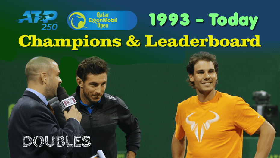 Qatar ExxonMobil Open. Doubles Champions and Leaderboard
