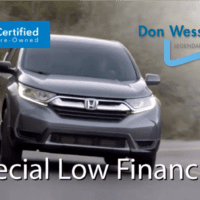 Andy Taylor Voice Over. Don Wessel Honda. 2020 Certified Dream Deal